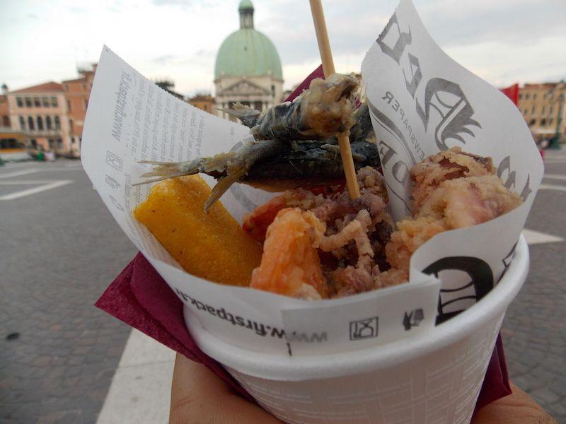 Street food en Venecia