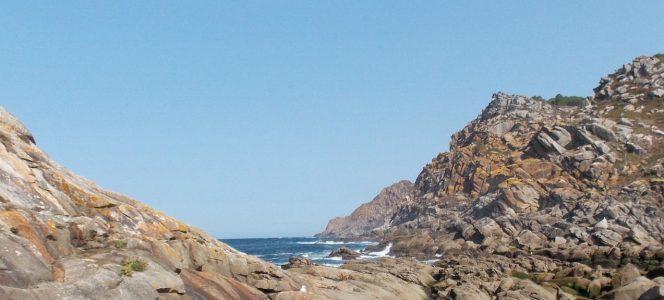 Mar atlántico en galicia