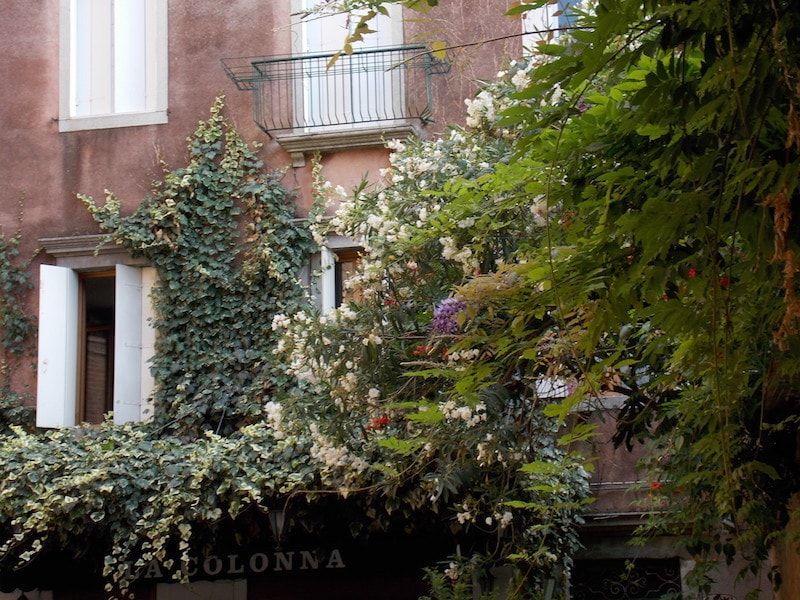 Plazas con encanto en Venecia