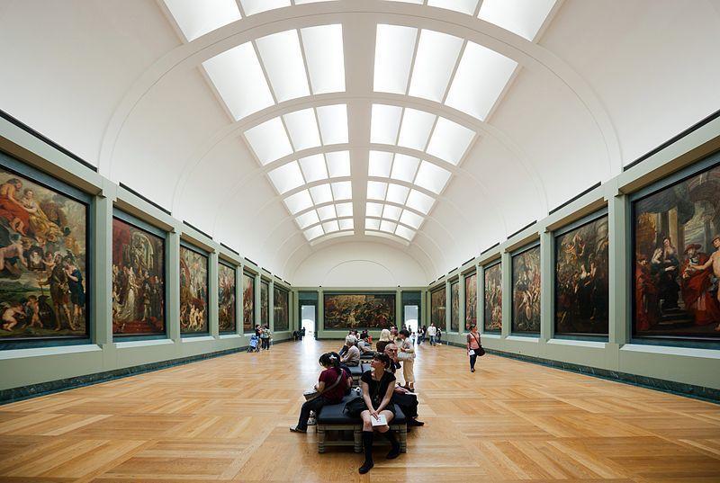 Galerías del Louvre