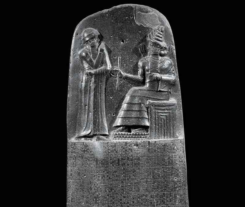 Código de Hammurabi, Loubre