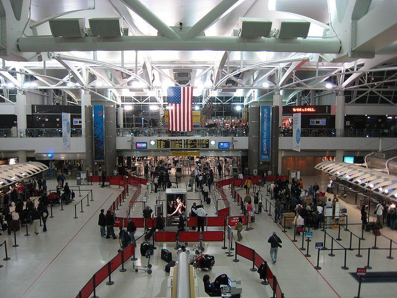 Terminal del aeropuerto JFK de New York