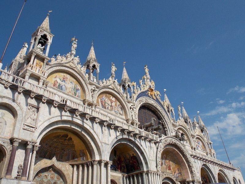 Detalle fachada San Marcos de Venecia