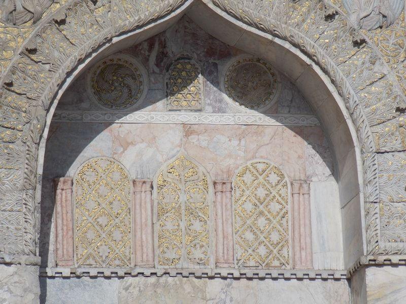 Elementos góticos y bizantinos en San Marcos de Venecia
