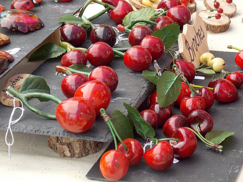 Ferias de la cereza en Caderechas y Covarrubias