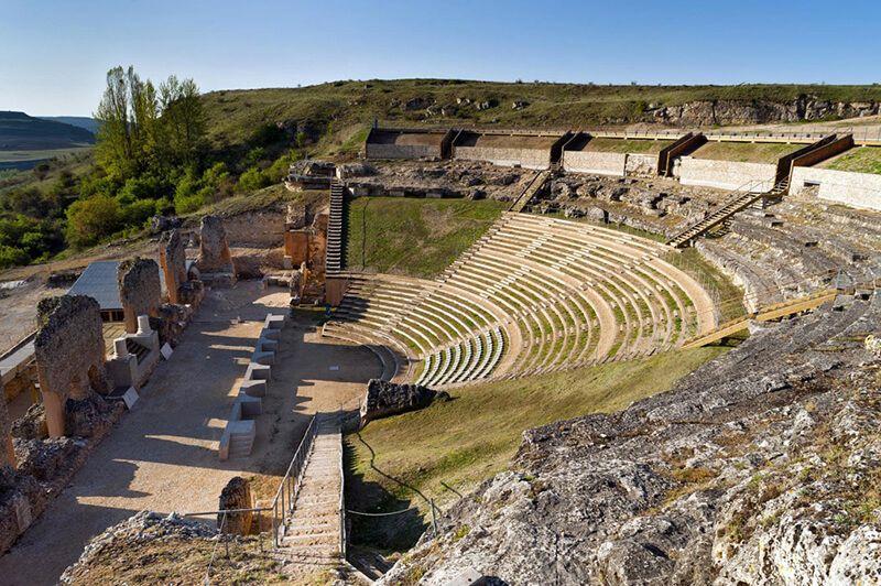 Teatro romano de Clunia festival de verano