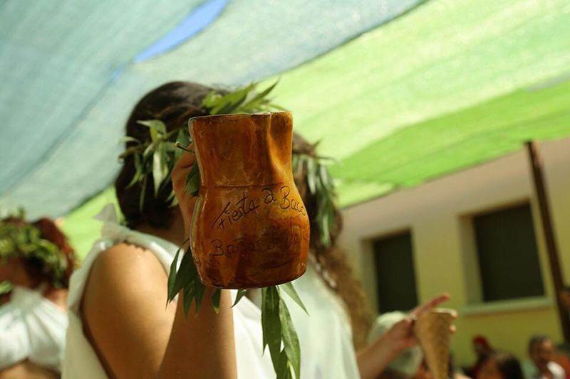 Fiesta al Dios Baco en Burgos