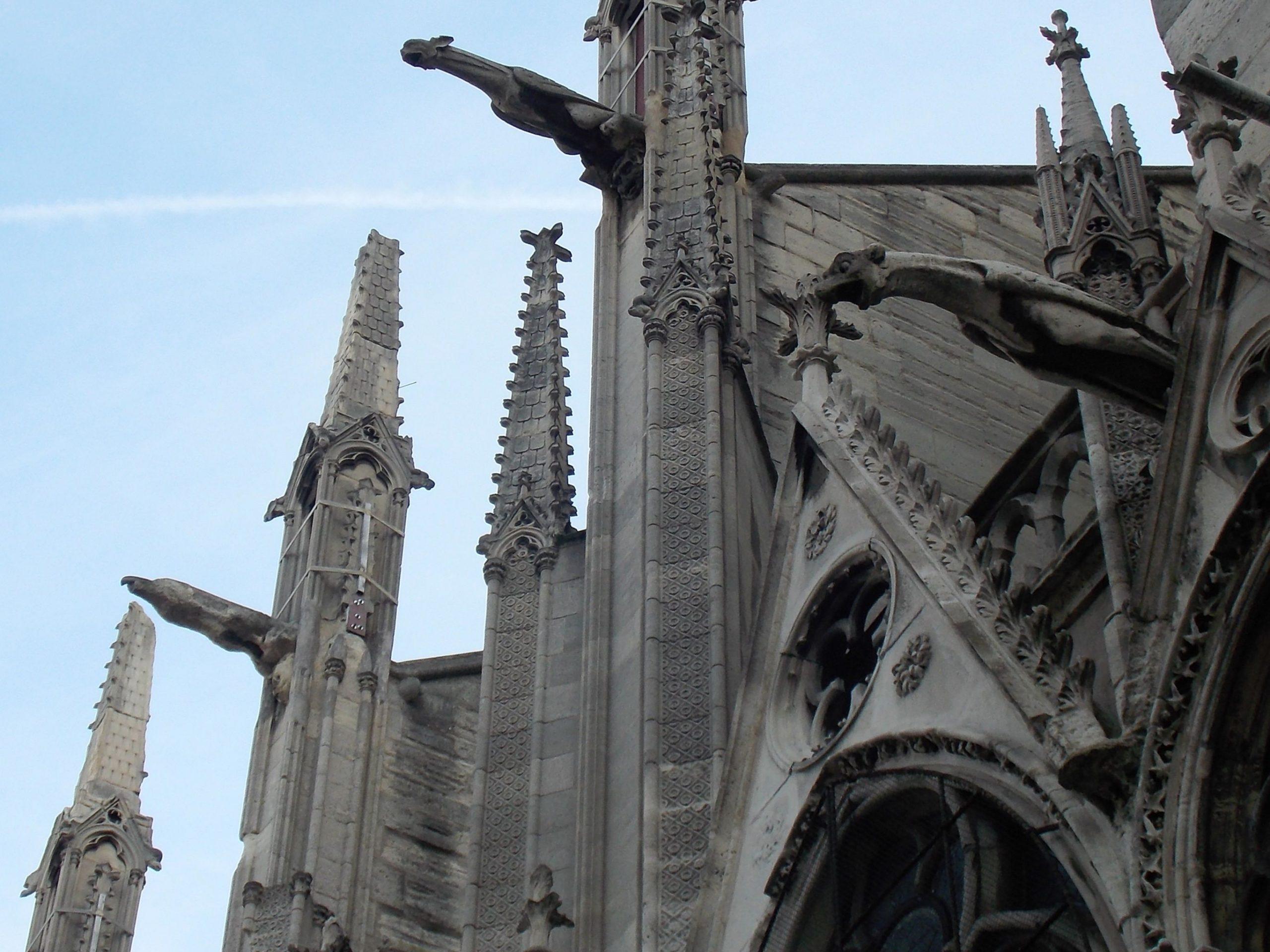 Exterior Notre Dame de París