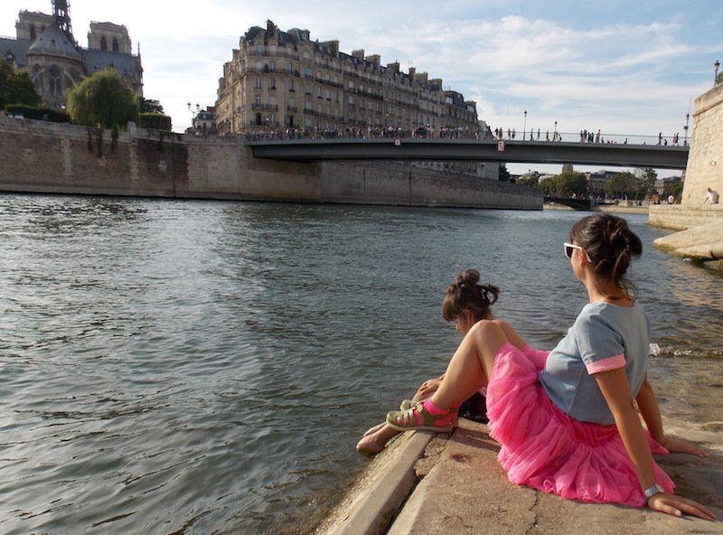 Notre Dame de París desde el río
