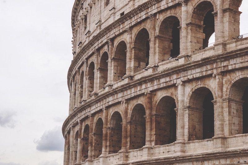 Visitar restos del Imperio en Roma
