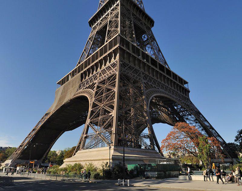 Entrada a la Torre Eiffel París