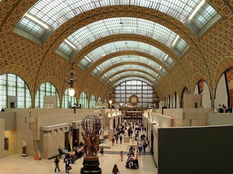 Visitar el museo Orsay de Paris