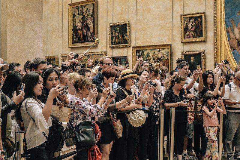 Visitar Mona Lisa en el Louvre de París