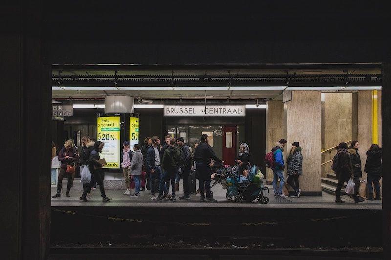 Tren para ir del aeropuerto a Bruselas