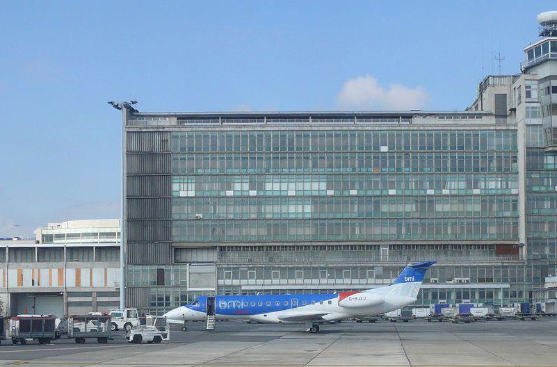 Terminal aeropuerto Bruselas