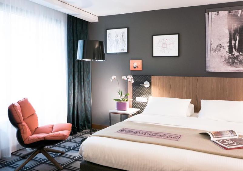 Habitación Blu Radison Bruselas