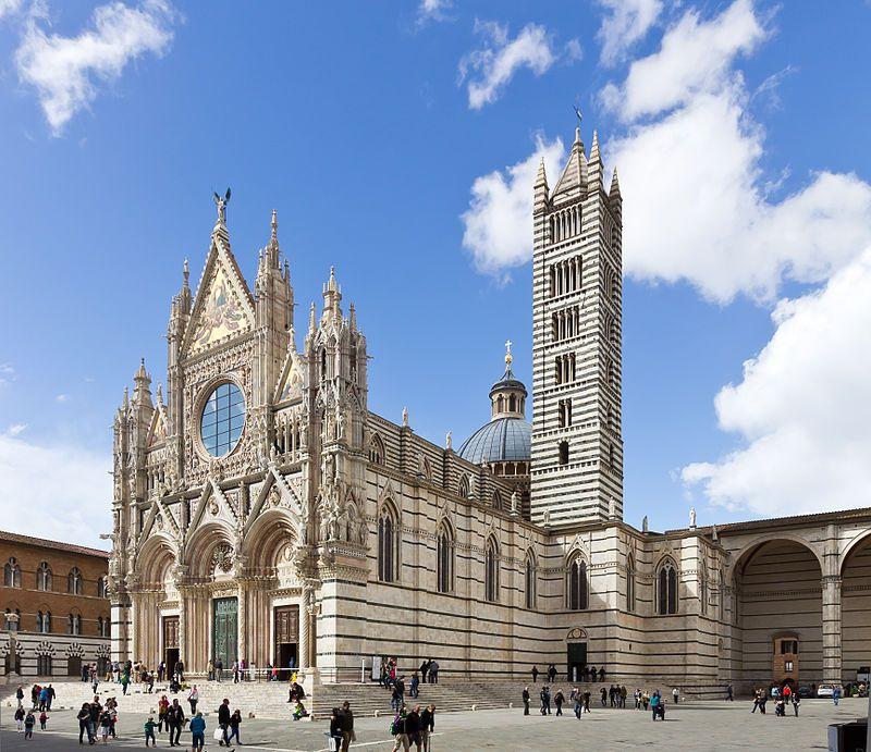 Duomo de Siena cerca de Florencia