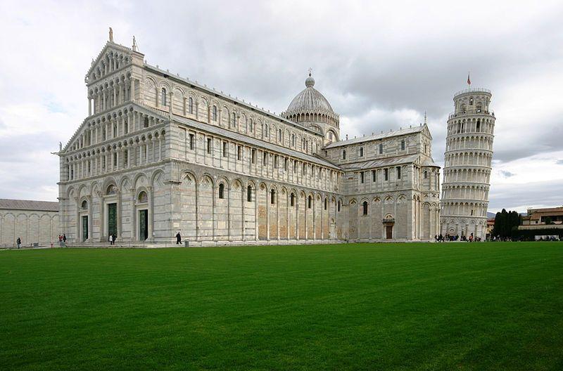 Catedral de Pisa cerca de Florencia