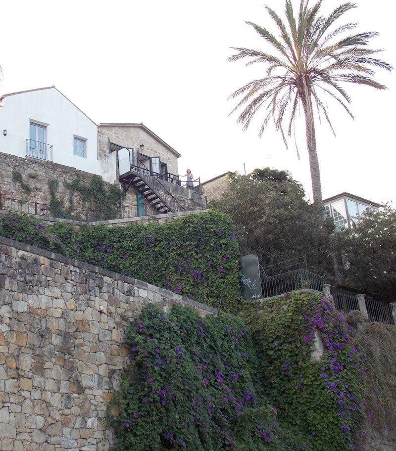 Paisaje en Rías Baixas