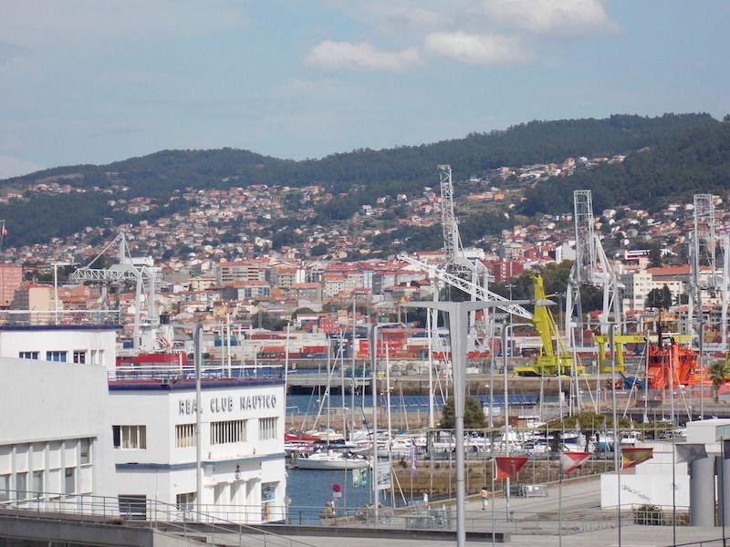 Excursión al puerto de Vigo