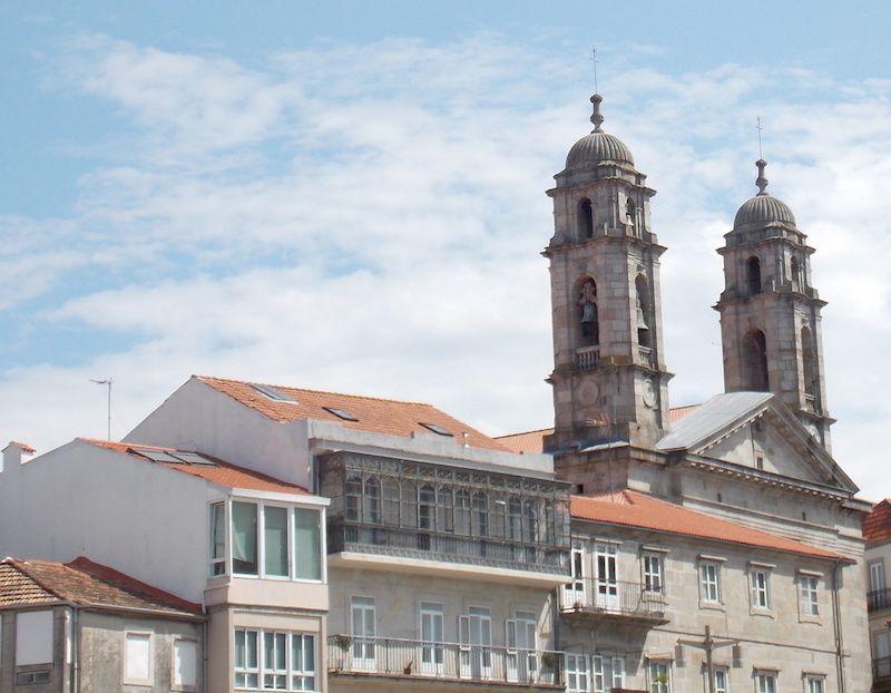Concatedral de Vigo en las Rías Baixas