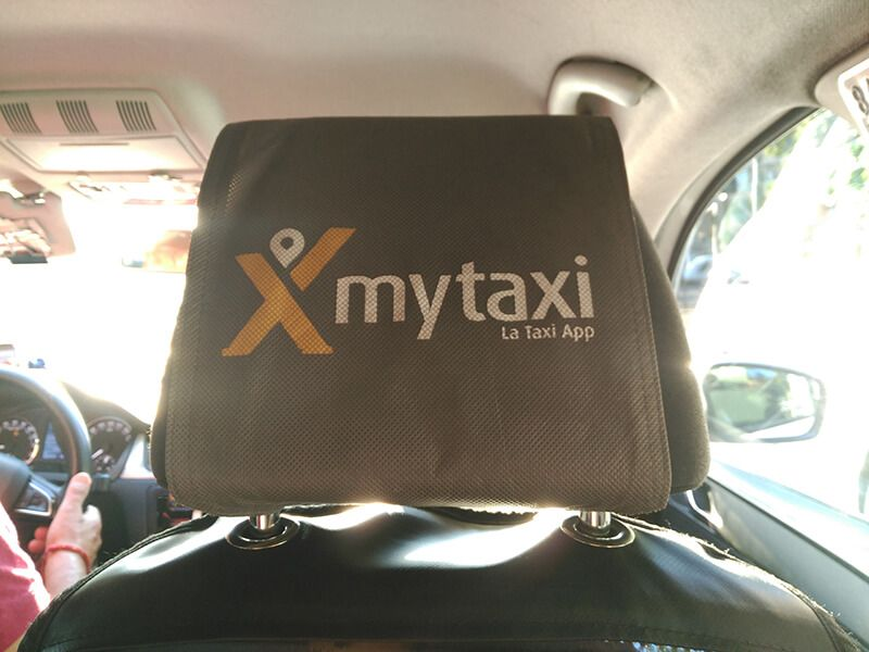 app móvil de taxi