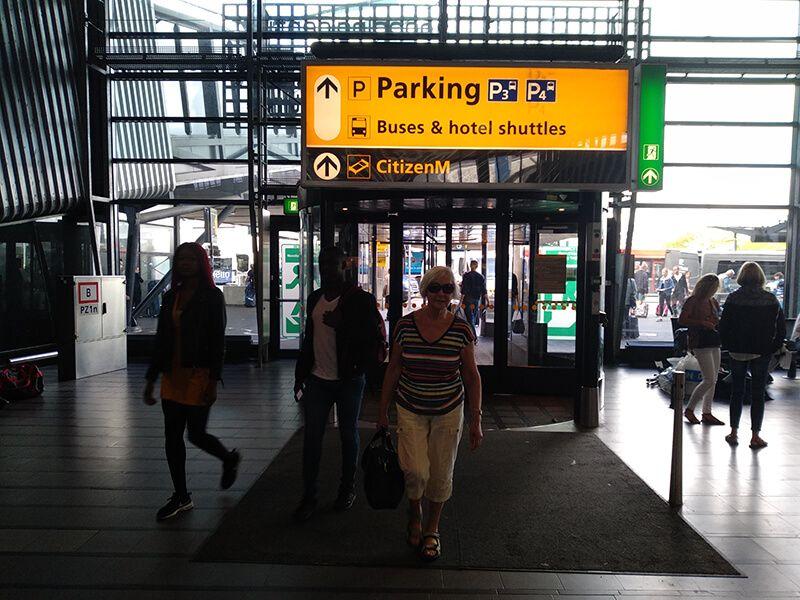 parking aeropuerto