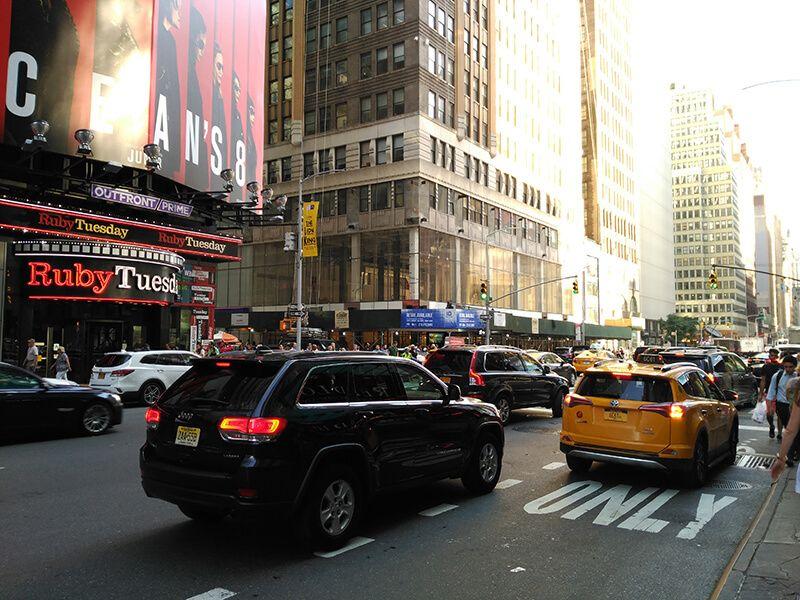 Nueva York en Taxi