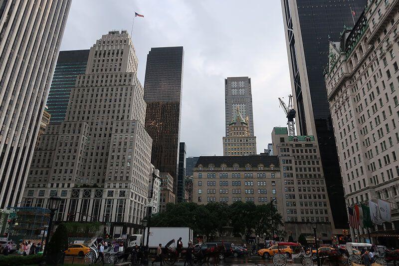 Llegar al centro de la ciudad de Nueva York