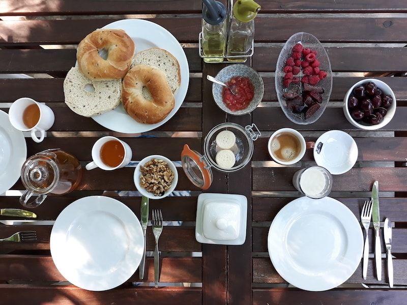 Desayuno en Montreal