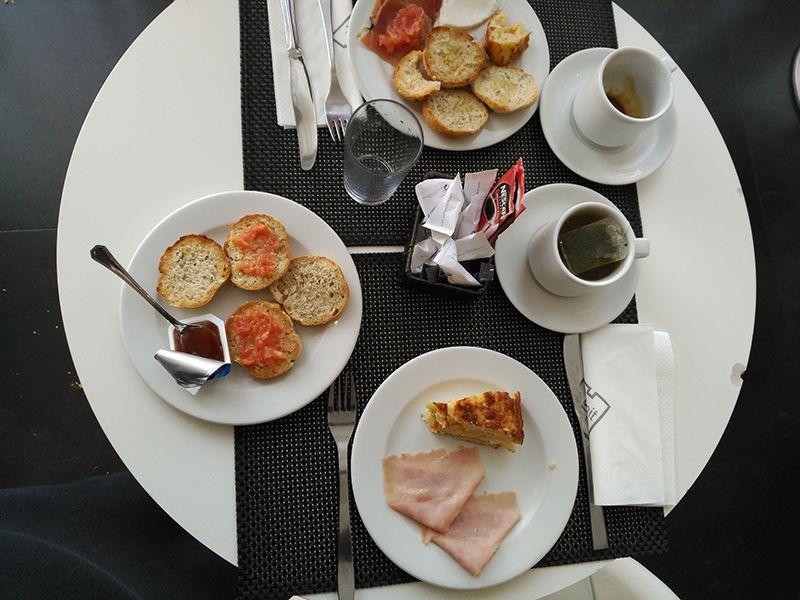 Desayuno buffet en Madrid