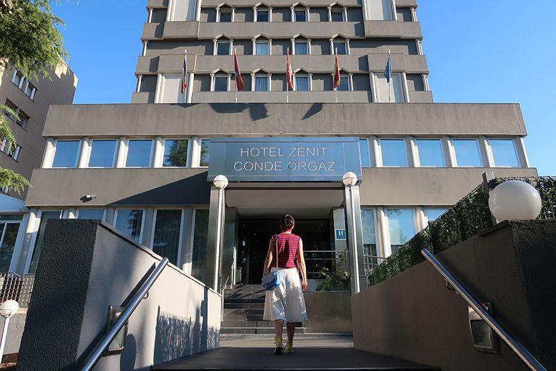 hotel Zenit Conde Orgaz, cerca de Barajas