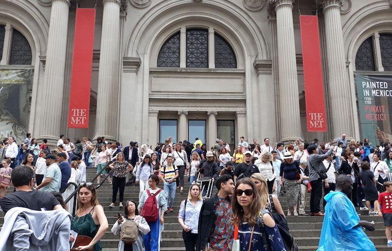 Visitar el Met uno de los Museos de Nueva York