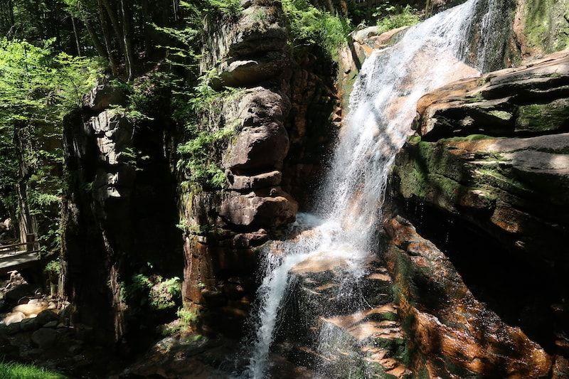 Cascada en Flume Gorge