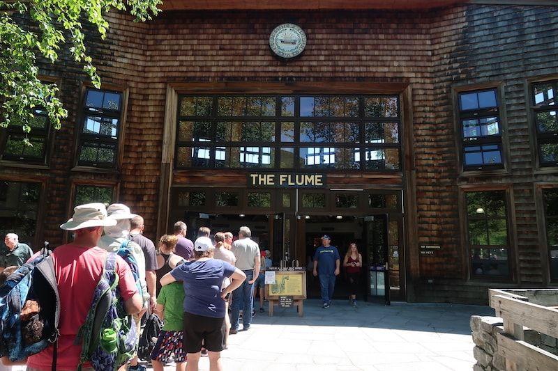 Entrada a Flume Gorge