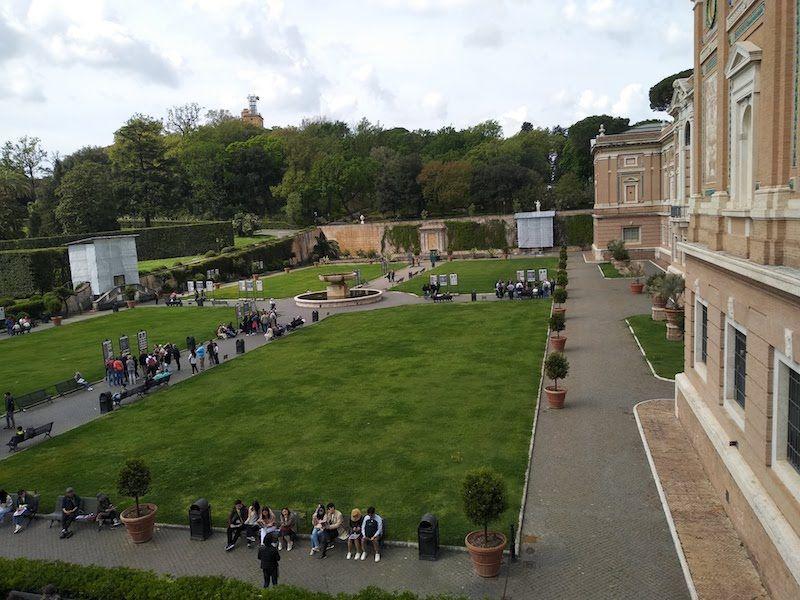 Jardines en el Vaticano