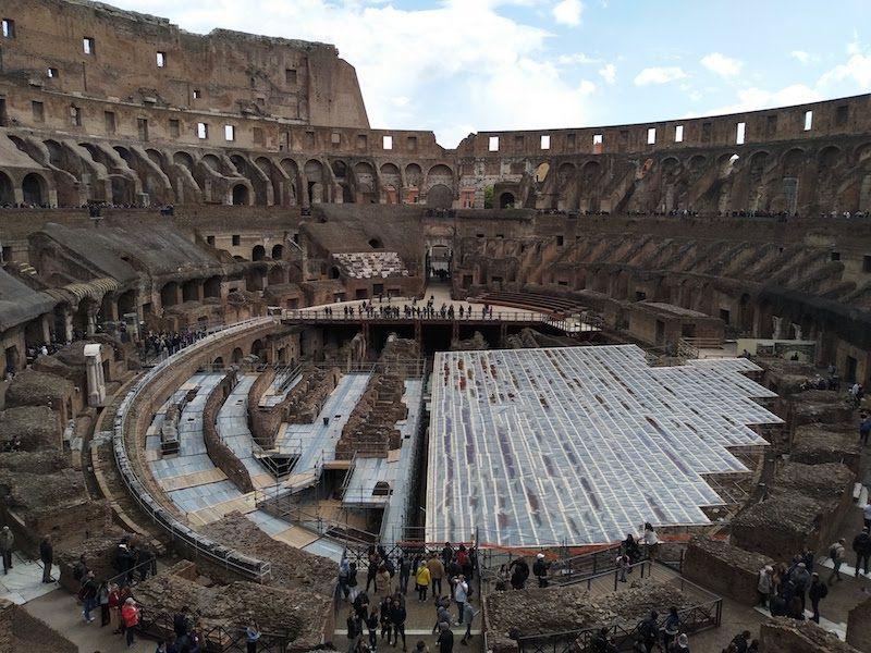 qué ver en el interior del Coliseo