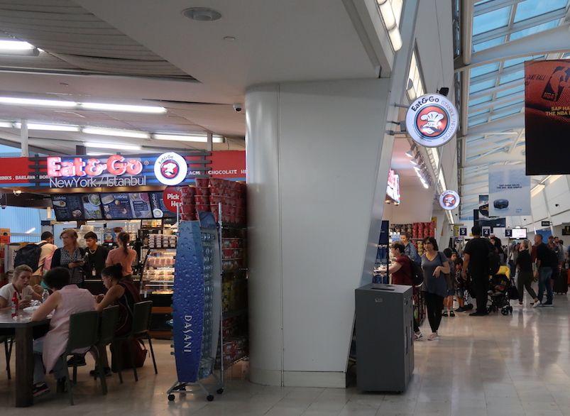 comer en aeropuerto JFK