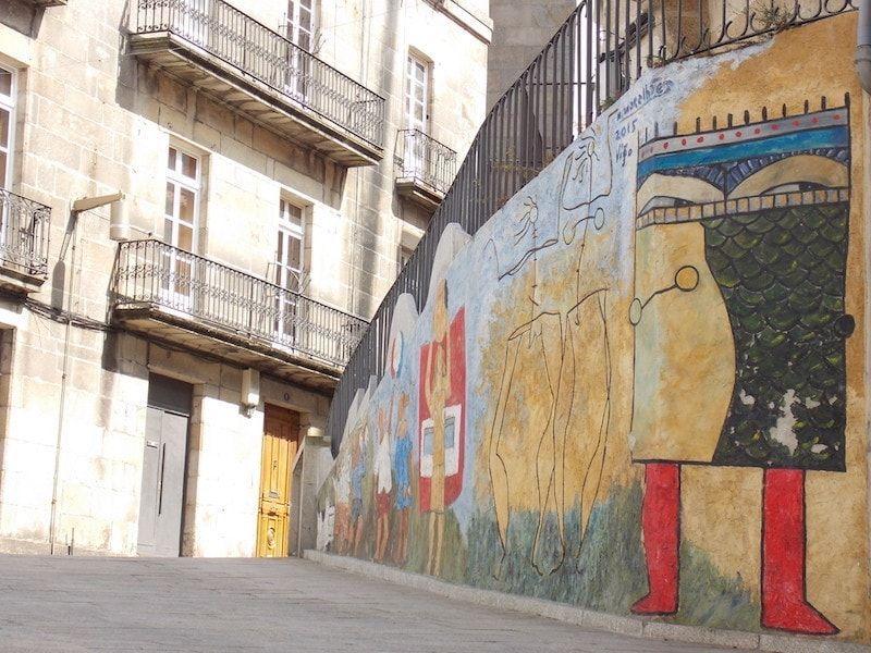 Street arte en Vigo en un día