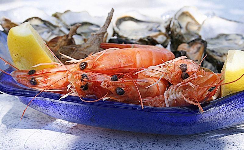 Comer marisco en Vigo