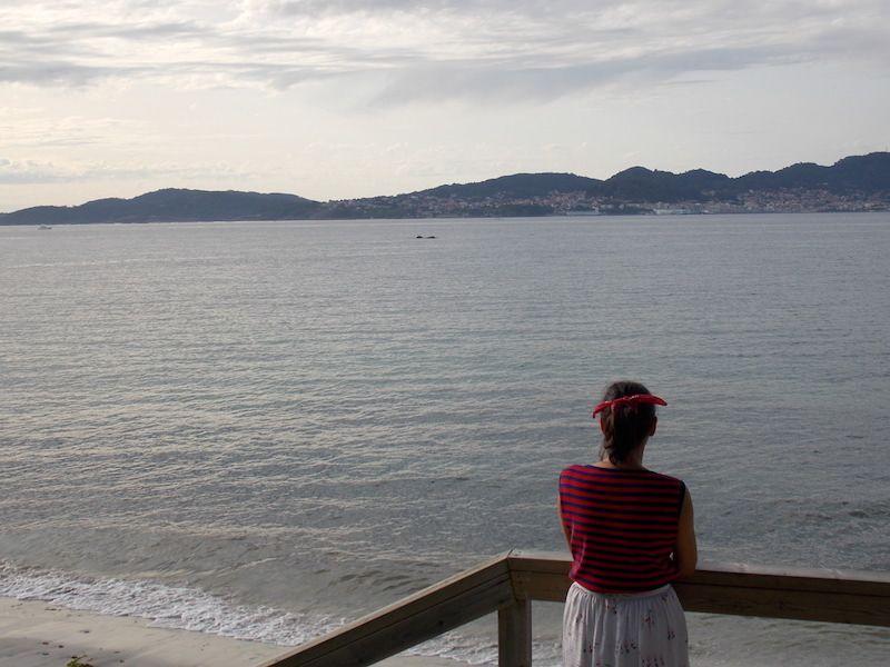 Vistas en la ría de Vigo