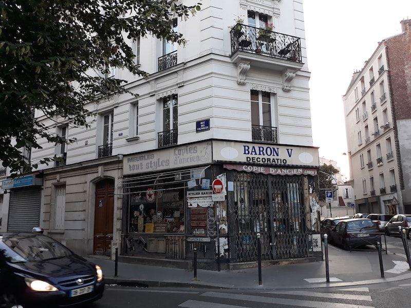 Barrio de mi GuestToGuest en París