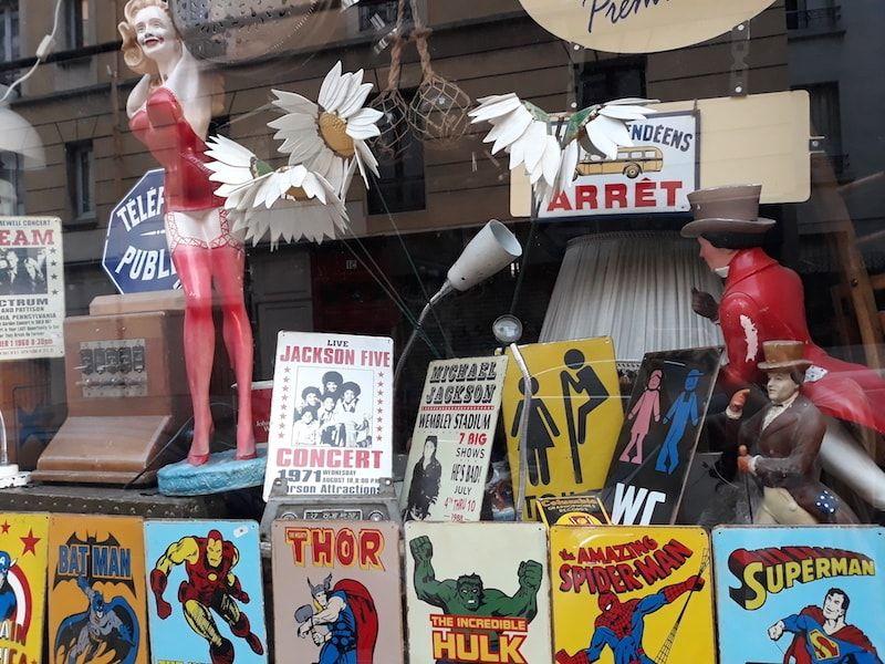 Tiendas en el barrio de mi GuestToGuest en París