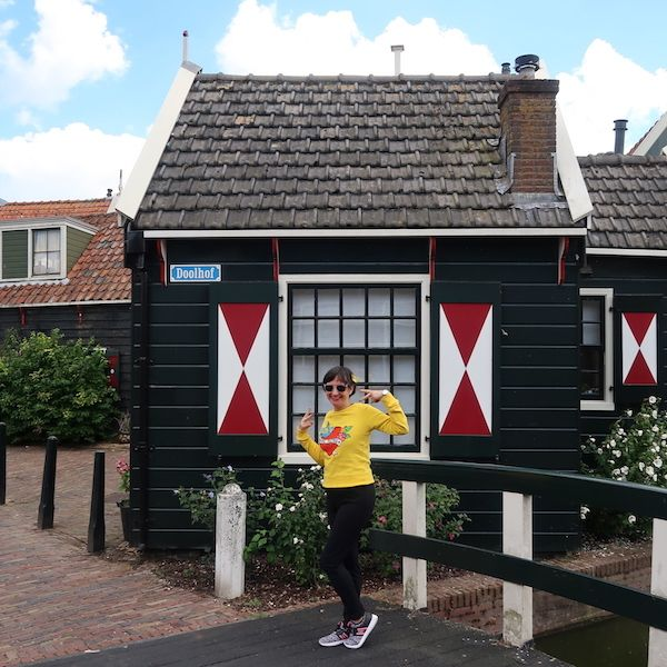 Excursiones cerca de Amsterdam con casas típicas