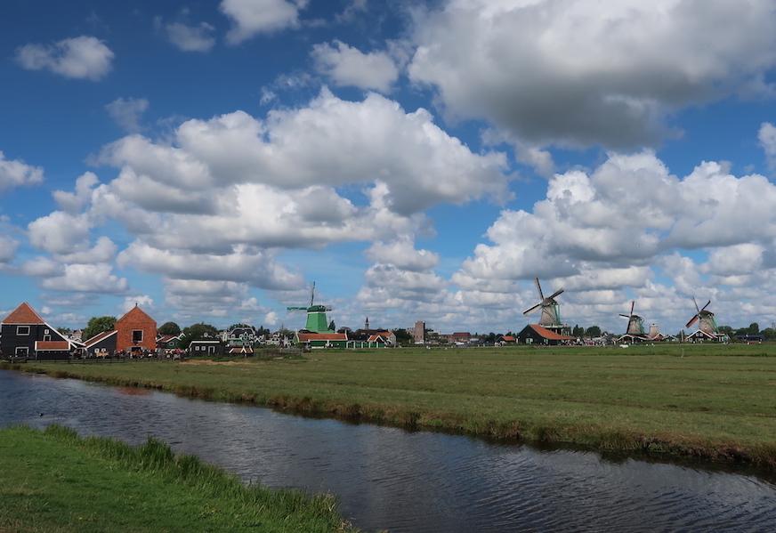Visitar molinos en Holanda en Zaanse Schans