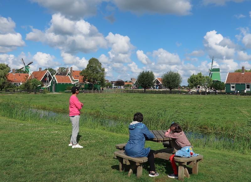 Visitar molinos en Holanda cerca de Ámsterdam