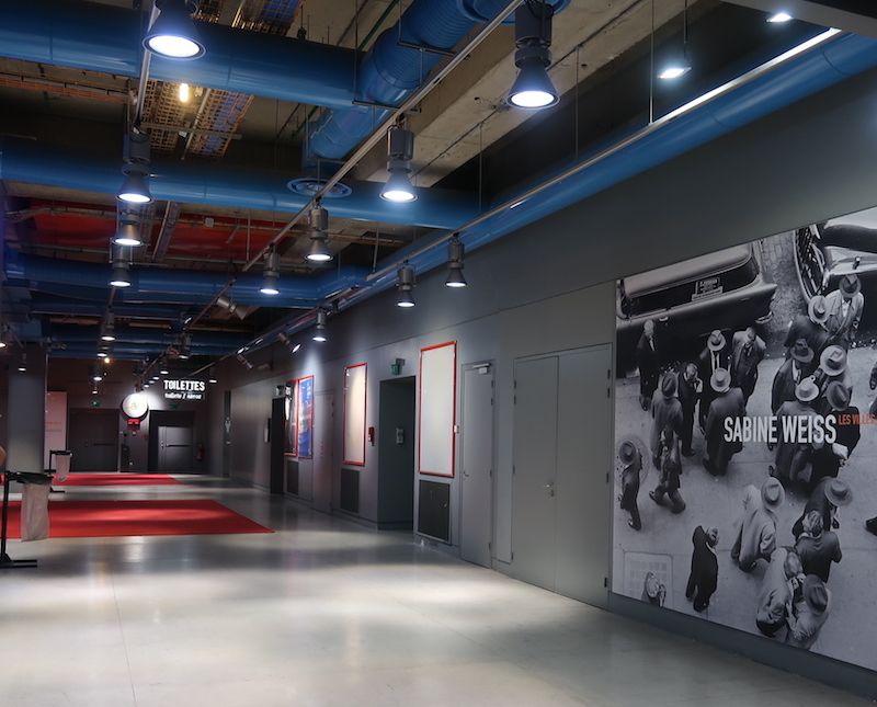 Sala en el Museo Pompidou de Museos de París