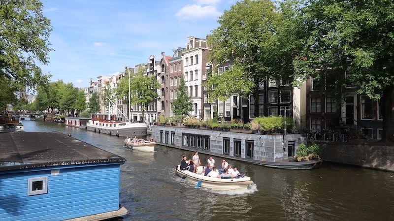 Ruta de un día en Ámsterdam para hacer un crucero