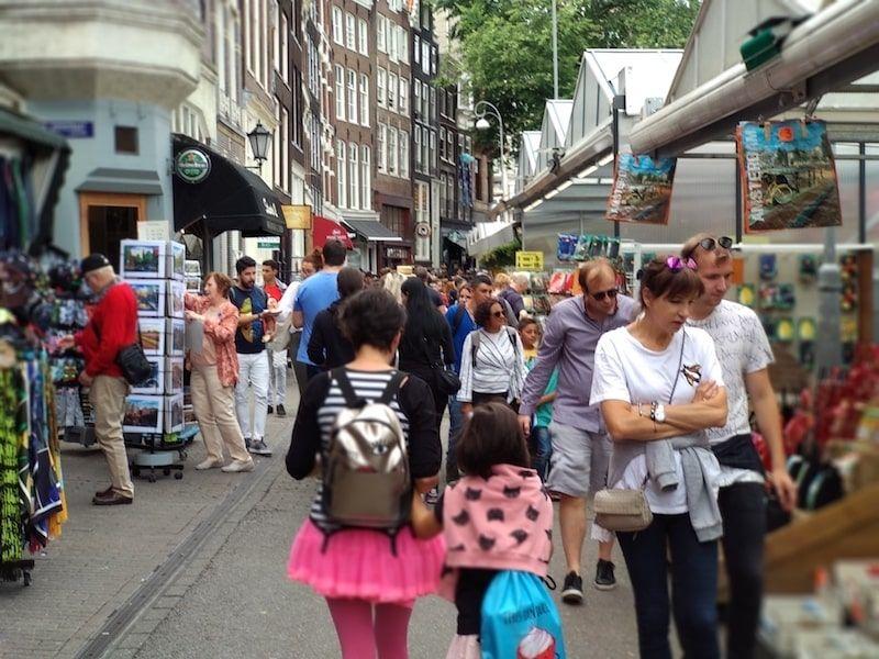 Mercados típicos para unaRuta de un día en Ámsterdam