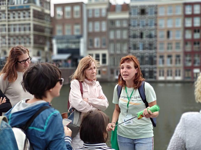 Ruta de un día en Ámsterdam haciendo un freetour